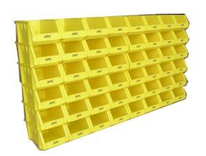 Producto de alta calidad combinados de plástico en la pared los recipientes de almacenamiento de verificación