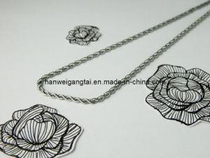 Cuerda de Acero Inoxidable 316L Necklace