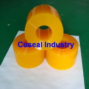 De duidelijke Flexibele Plastic Gordijnen van de Strook van pvc Colord
