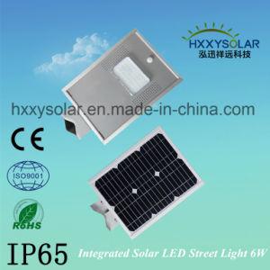 IP65 Luz de Rua LED Solar integrado 6W