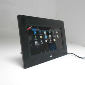 7 인치 작은 디지털 Singage 인조 인간 WiFi 사진 프레임