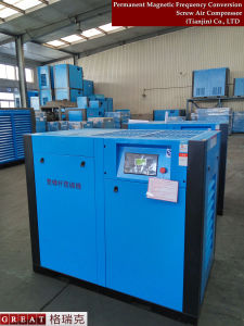 Compressore d'aria della vite dei rotori del doppio di applicazione di industria alimentare