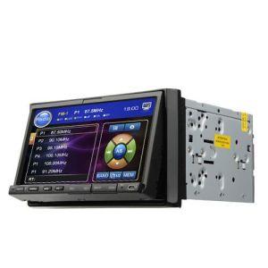 7 Zoll-Touch Screen 2 LÄRM Auto-DVD-Spieler mit GPS-FERNSEHAPPARAT-Radio-Bluetooth-iPod