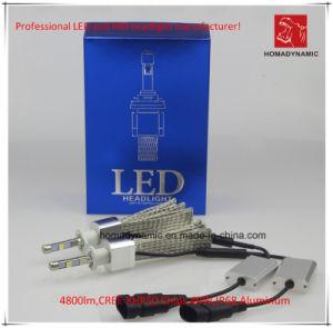 Prueba del Agua de la Linterna 4800lm 6000k 40W del Coche H1 LED del CREE Xhp50