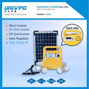 Portable 7ah Système d'éclairage solaire avec fonction de radio FM