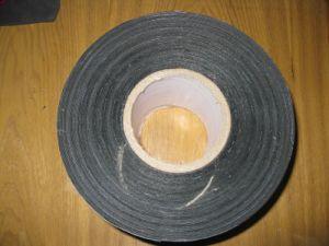 PEの瀝青防水ダクトテープを包む自己接着地下のさび止めの管の覆いテープポリエチレンのButylテープ