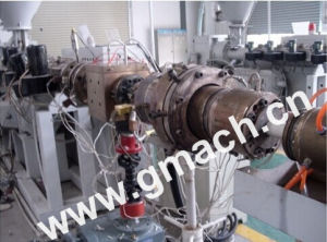 Bomba de engranajes de fundido de extrusión de tubo de la línea de extrusión de HDPE