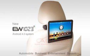 Affissione a cristalli liquidi Monitor Support WiFi, 3G Dongle, Different Bracket di Android Headrest di 10.1 pollici