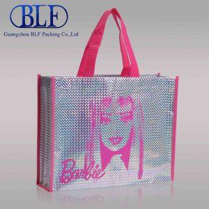 Не тканого PP женская сумка Магазинов, из тончайшего хлопка, подушки безопасности подушки безопасности