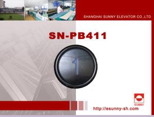Metalldruckknopf für Aufzug (SN-PB411)