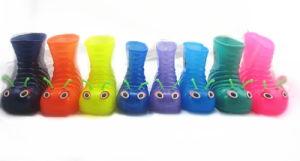 De mooie Transparante Laarzen van de Regen van pvc van Kinderen (43jb1605)