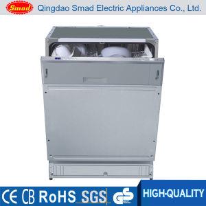 Plein-Construit dans le lave-vaisselle d'acier inoxydable