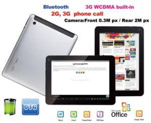 10.1 Duim Ingebouwde 2g, 3G Telefoongesprek Bluetooth HDMI Androïde PC van 4.0 Tablet (CT1A01)