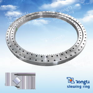 Le pivotement de la bague de roulement de pivotement de roulement// Cross-Roller pignon interne de la bague pivotante avec la norme ISO 9001