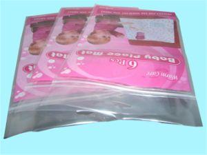 С герметичными застежками три стороны запечатанный пластиковый пакет Ziplock