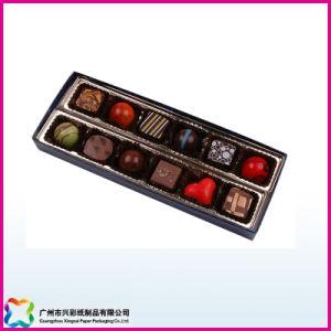 Pastel de regalo San Valentín/Caramelos/caja de embalaje de chocolate con tapa de plástico (XC-10-001)