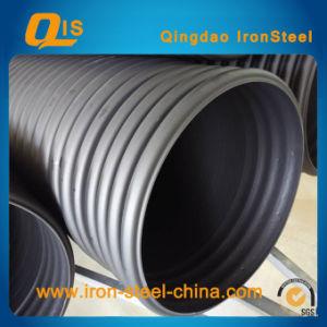 鋼鉄Belt Reinforced HDPE螺線形のBellows Pipe