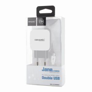 2.4A дважды быстро USB телефона зарядное устройство с помощью кабеля USB