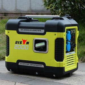 Bison (China) BS1600Q 2KW AC monofásico agregado com certificação CE Tempo de longo prazo para a Honda INVERSOR DO GERADOR 2000