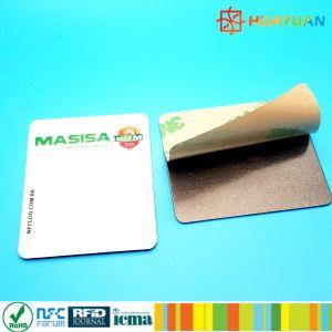 製品の確認のためのプログラム可能な13.56MHzスマートな受動態NFC Ntag213チップステッカー
