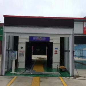 フルオートのトンネル車の洗濯機きれいな装置システム蒸気機械製造の工場はクリーニング絶食する