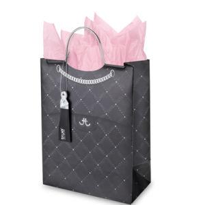安いCustomedのクリスマスのクリスマスのプレゼントのクラフト紙袋