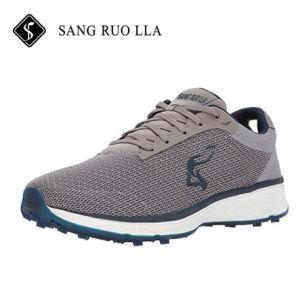 Nuevo diseño de la luz de malla suave Zapata Mens zapatos de golf de peso