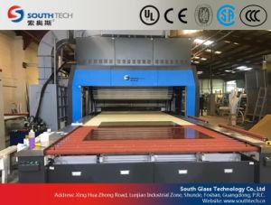 Machine van het Glas van Southtech de Kruis Gebogen Buigende Hardende (HWG)