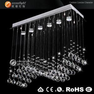Lustre en Cristal Pendentif d'éclairage à LED (OM940 W40 L80 H10cm)