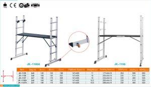 Pt131 andaime aprovado escada com plataforma de madeira (JK-1106A)