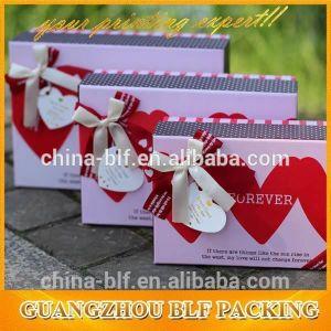 Cartone su ordinazione dei contenitori di regalo del Keepsake di Packagingbaby del documento di donazione (BLF-GB490)