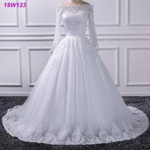 Berufschina-Fabrik-Brautballkleid-Hochzeits-Kleid