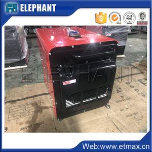 저잡음 3.5kw 4.4kVA 휴대용 디젤 엔진 발전기 공장 가격