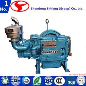4 치기 단 하나 실린더 해병 또는 발전기 또는 농업 또는 펌프 선반 또는 갱내수 냉각된 디젤 엔진