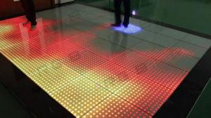 Indicatore luminoso interattivo sensibile LED sottile eccellente Dance Floor della fase dell'alto pixel