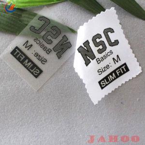 Peça de vestuário personalizado ferro sobre a transferência de calor dos rótulos e etiquetas de vestuário