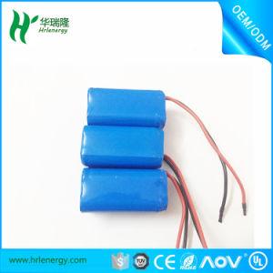 Guantes térmicos 7,4 V 14500 16340 800mAh Li-ion Battery Pack