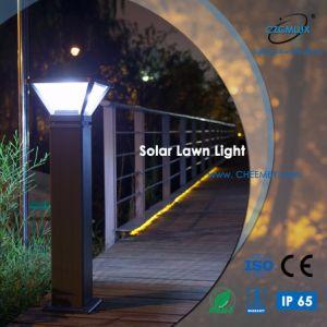 Indicatore luminoso solare esterno del prato inglese della fusion d'alluminio LED per il giardino