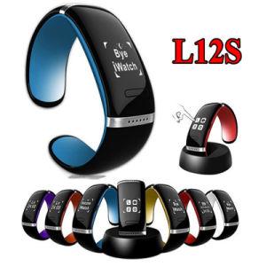 Pulsera inteligente L12s para el iPhone OLED pulsera Bluetooth electrónicos portátiles