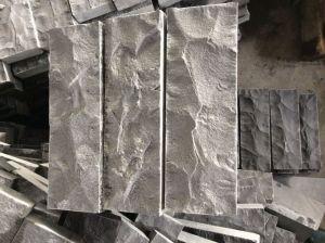 Mogolia黒く自然なSplitedのタイル