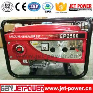 Portátil arranque eléctrico gasolina 7500W de potencia 7500W de 7,5 Kw generador 7.5kVA