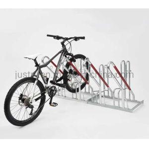 Armazenamento de estacionamento de bicicletas montado no chão