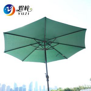 Patio de loisirs de plein air personnalisé Garden Sun Parasol Parasol avec manivelle