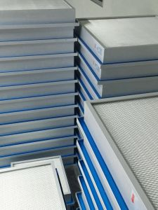 Filtro dalla piega HEPA della guarnizione del gel del comitato dell'aria mini