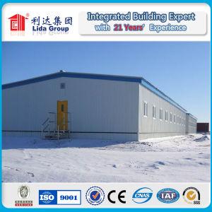 La estructura de acero de la construcción de almacén de fabricar