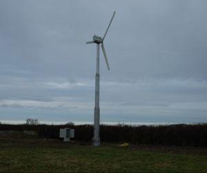 10kw 지적인 비 꼬리 바람 터빈 발전기