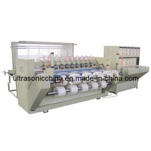 Fabricant professionnel ! Machine de fente ultrasonique pour le tissu de polyester de découpage