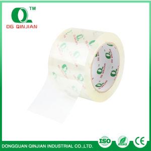 El agua de la fábrica China OEM Acrylic BOPP adhesiva fuerte cinta de embalaje con certificado ISO 9001 y SGS Muestra gratuita