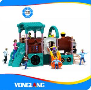 Équipement de terrain de jeux de plein air en plastique, yl-A012