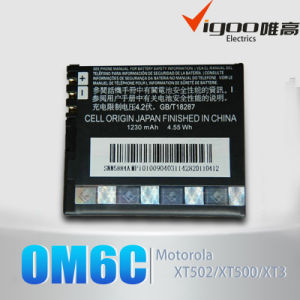 Para la batería del teléfono de Motorola Om6c con alta capacidad